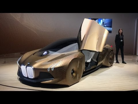 BMW Vision Next 100! Rolls Royce, Mini Cooper and BMW Motorcycle concept!