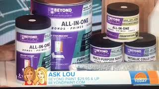 Today Show with Hoda and Kathie Lee Gifford | Product Expert Lou Manfredini | Beyond Paint