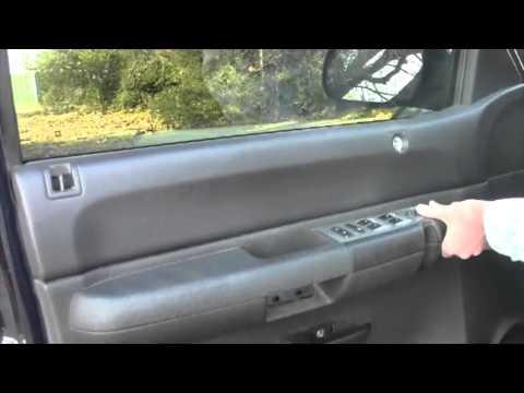 How to install remove rear door panel silverado sierra for 03 silverado door speakers