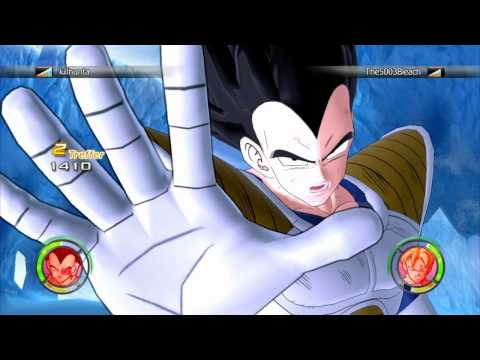 [HD] Dragonball Raging Blast 2 - Online-Fight #9 - Killhunta vs. The5003Bleach [5v5] [PS3]