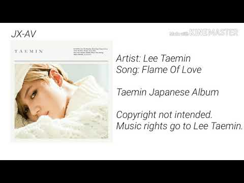 Taemin Japanese Album - Flame Of Love (Audio)