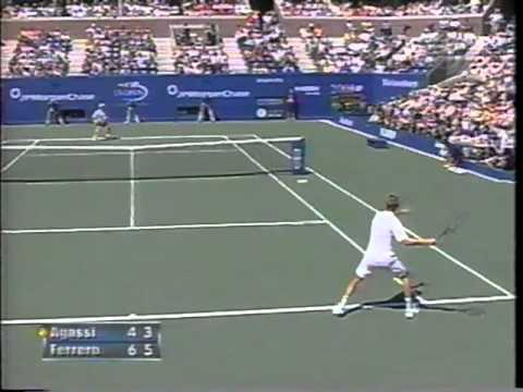 Ferrero vs Agassi US Open 2003