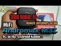 Unboxing Dan Review MiFi Andromax M3Z Bonus Paket Internet 30 GB