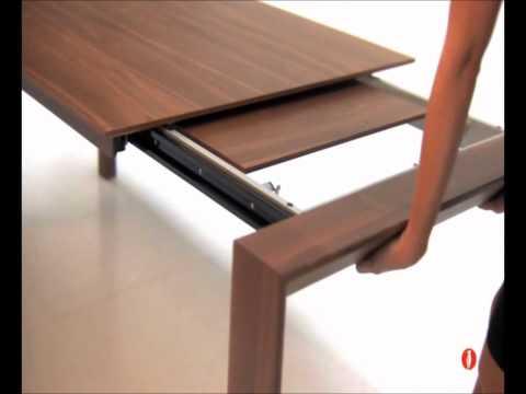 Download tavolini trasformabili e tavoli consolle for Calligaris tavoli allungabili legno