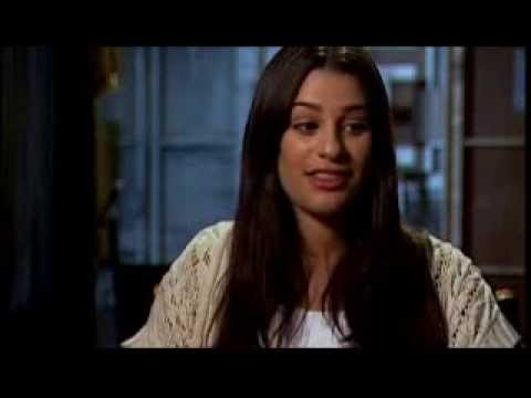 Lea Michele and Cory Monteith audition for Glee