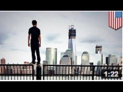 Un fan de parkour réussi à grimper au sommet de la nouvelle tour de New-York
