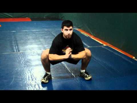 Squat Secrets  Force Your Knees Out! Prayer Squat Stretch