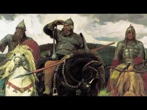 Три богатыря, Васнецов - анализ картины