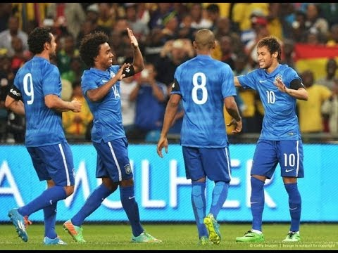South Africa vs Brazil 0-5 | All Goals and Highlights HD | Friendly Match 2014