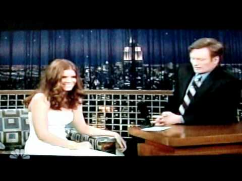 Kate Mara on Conan O'Brien 2007