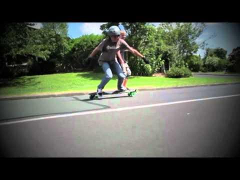 La Femme-Longboarding NZ
