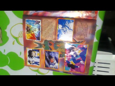 albumes dragon ball 2, 3, z1, z2, z3, completos