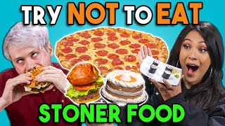 Stoners Try Not To Eat Challenge #2 | People Vs. Food