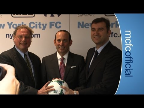 CITY ON TOUR: New York City FC announcement
