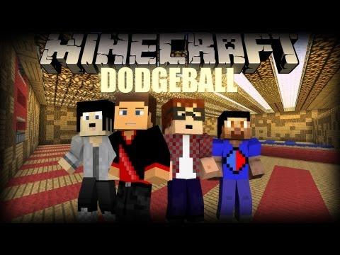 Minecraft: Dodgeball w/Vikkstar123, Gizzy14Gazza, MunchingBrotato
