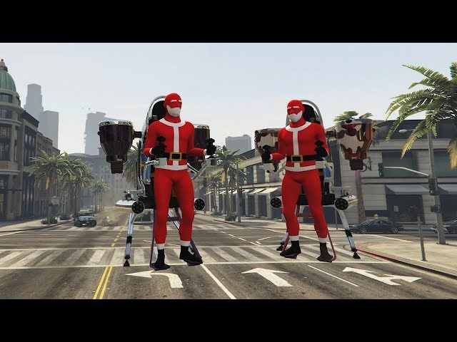 CHRISTMAS UPDATE IN GTA V!