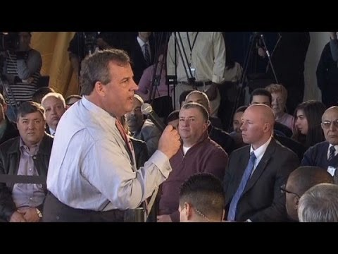 Gov. Christie gets into heated healthcare exchange
