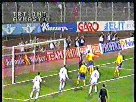 Trkiye 2-1 sve (29.03.1995)