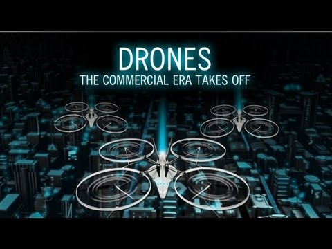 Drones - The commercial era takes off