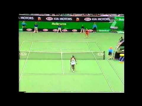 Venus Williams v Ashley Harkleroad Australian Open Highlights