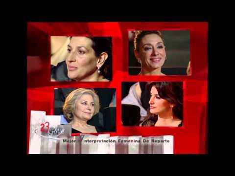 Penélope Cruz gana el Goya a Mejor Actriz de Reparto en 2009