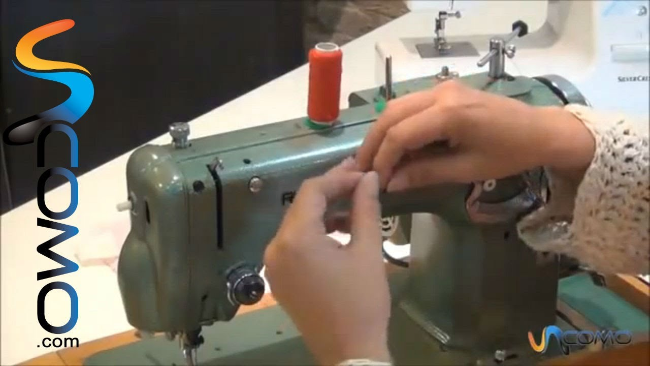 instruccion maquina coser anunciado tv: