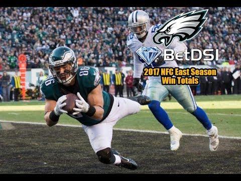 NFL | How To Win Betting 2017 Philadelphia Eagles NFL NFC East Season Win Totals 60 SEC