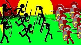 Our Stickmen Kingdom Must Conquer Everyone! - Stick War Legacy Campaign Mode