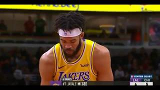 Los Angeles Lakers vs Chicago Bulls NBA SEASON '19-'20 NOV 5 2019 1st Quarter Recap (MISSED & MADE)