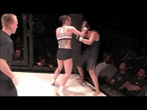 Tiffany Baker vs Gabby Atnip - CageWarsMMA