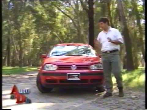 TEST VW GOLF 1 6 SR COMFORTLINE FORMAT  1999 AUTO AL DÍA