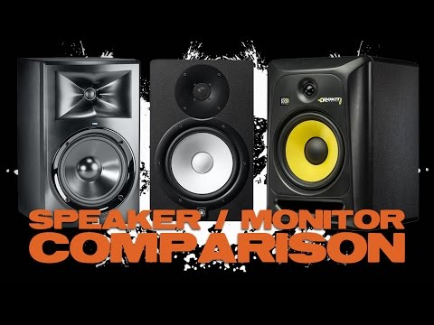 JBL LSR308 Yamaha HS8 KRK RP8G3 Comparison and Review