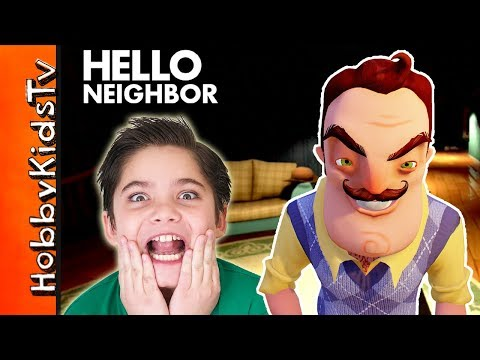 Hello Neighbor Is At HobbyKids House