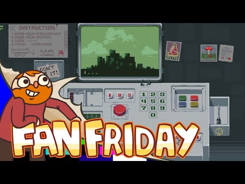 Fan Friday!! - Please, Don't Touch Anything