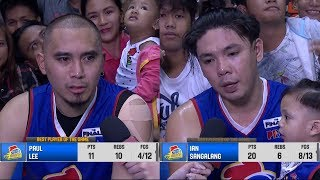 Best Players: Paul Lee and Ian Sangalang | PBA Governors? Cup 2018 Finals