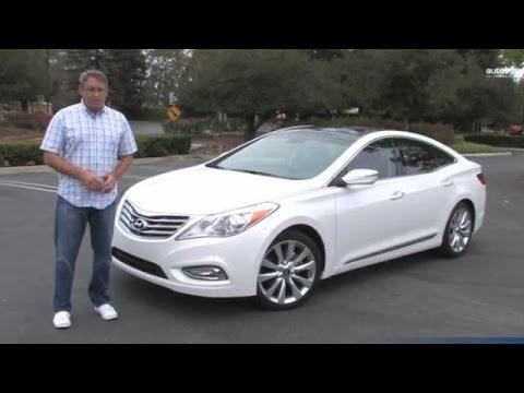 2014 Hyundai Azera Limited Test Drive Video Review Youtube