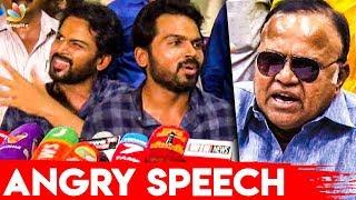 ராதாரவி பேசுனா நாங்க ஜெயிச்சுடுவோம் : Karthi Speech about Nadigar Sangam Elections 2019 | Vishal
