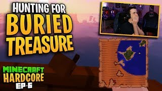 HARDCORE MINECRAFT! Hunting for BURIED TREASURE! Ep.6