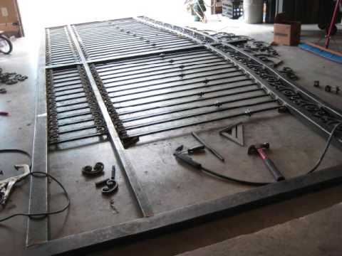 Driveway Entry Gate Diy Youtube