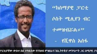 Ethiopia: scandal in blue party