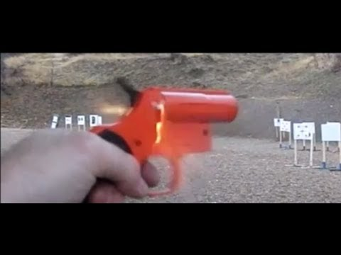 Viewer Request Video 16: Redneck Liberator -  Olin Flare Pistol with 22 conversion