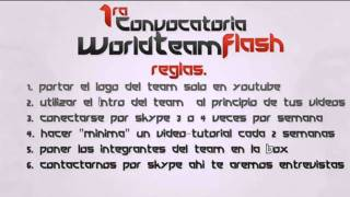 Video Respuesta Ala 1ra Convocatoria Del WorldTemFlash