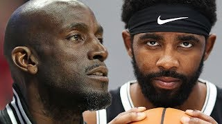 Kevin Garnett SLAMS Kyrie Irving, Says He Didn't Have The BALLS To Play In Boston