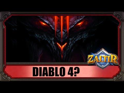 Blizzard разрабатывают Diablo 4?
