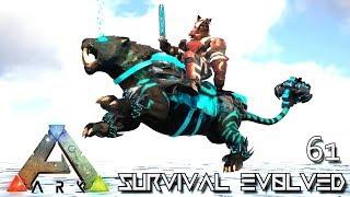 ARK: SURVIVAL EVOLVED - NEW TEK SABERTOOTH & TEK SWORD FOREWORLD MYTH !!! E61 (MOD EXTINCTION CORE)
