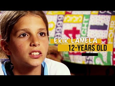 12-year-old Erik Lamela on Trans World Sport