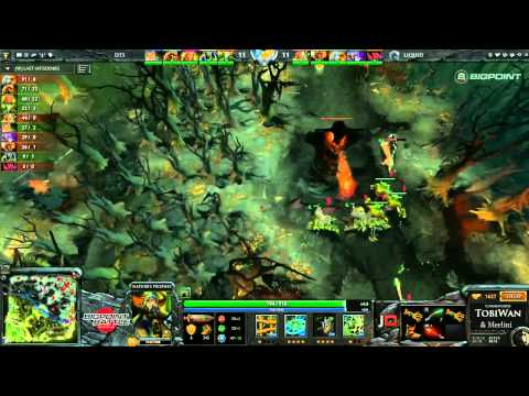 Na'Vi vs Team Liquid Game 1 - Bigpoint Battle DOTA2 - TobiWan