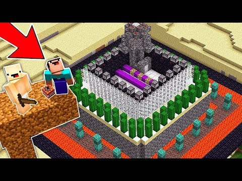 НУБ НАШЕЛ САМУЮ ЗАЩИЩЕННУЮ БАЗУ В Майнкрафте! Minecraft Мультики Майнкрафт троллинг Нуб и Про