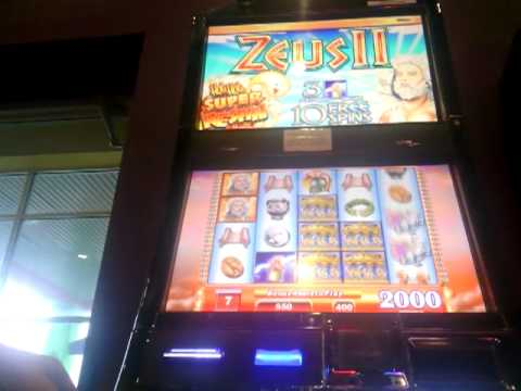 Zues casino slot machines max