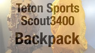 Teton Sports Scout3400 - Gear Review
